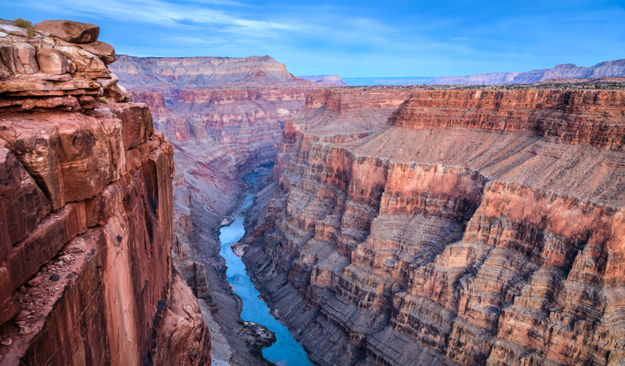View of a river in Grand Canyon National Park